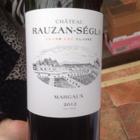 Château Rauzan-Ségla Margaux Red Bordeaux Blend 2012 (375ml)