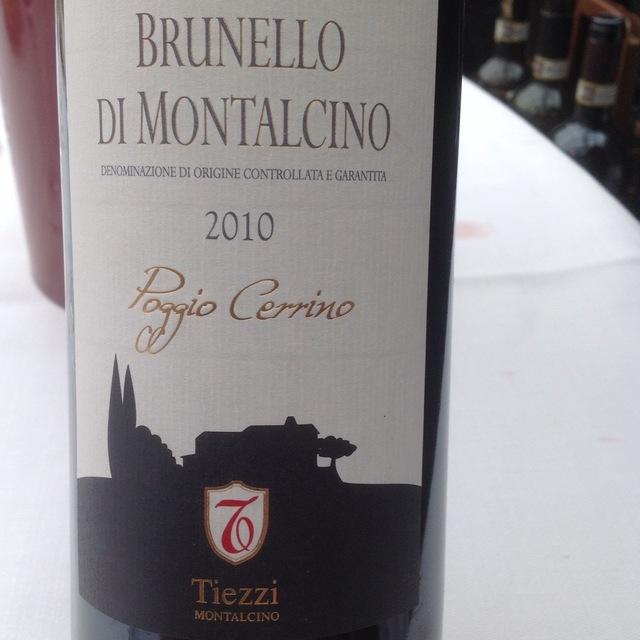 Poggio Cerrino Brunello di Montalcino Sangiovese 2010