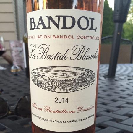La Bastide Blanche Bandol Mourvedre Blend 2014