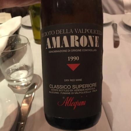 Allegrini Recioto della Valpolicella Classico Superiore Amarone Corvina Blend 2003 (500ml)