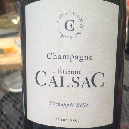 Etienne Calsac L'echappe Belle Extra Brut Champagne Chardonnay NV