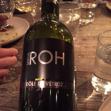 Serge Roh Dole De Vétroz Gamay Pinot Noir 2015