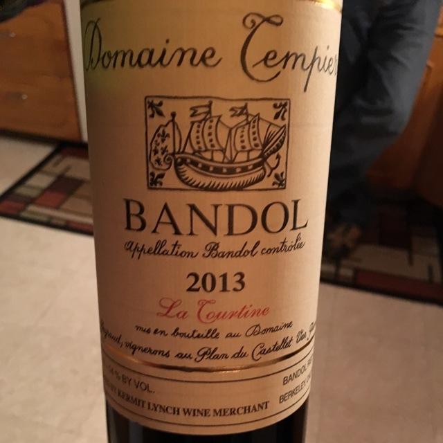 Cuvée La Tourtine Bandol Mourvedre Blend 2013 (1500ml)
