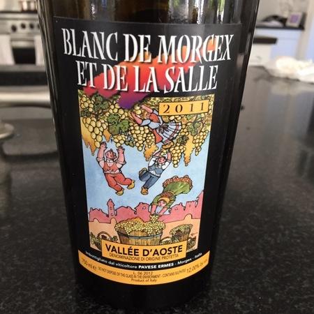 Ermes Pavese Blanc de Morgex et de la Salle Prié Blanc 2015