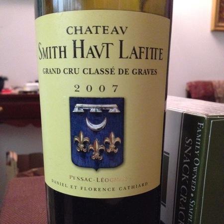 Château Smith Haut Lafitte Pessac-Léognan Red Bordeaux Blend 2007