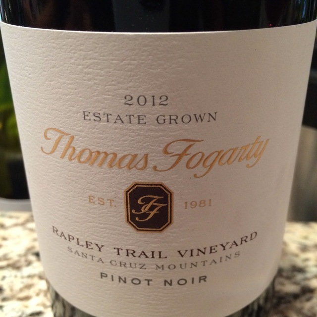 Rapley Trail Vineyard Pinot Noir 2012