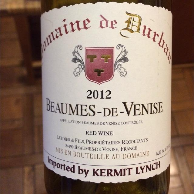 Beaumes-de-Venise Red Rhône Blend 2014