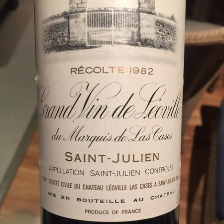 Château Léoville-Las Cases Grand Vin de Leoville du Marquis de las Cases Saint-Julien Red Bordeaux Blend 2000