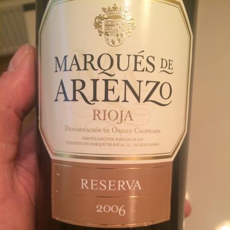 Marqués de Arienzo Reserva Rioja Tempranillo 1985 (1500ml)