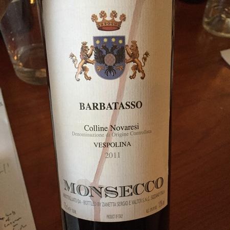 Monsecco Sizzano Nebbiolo Blend 2012