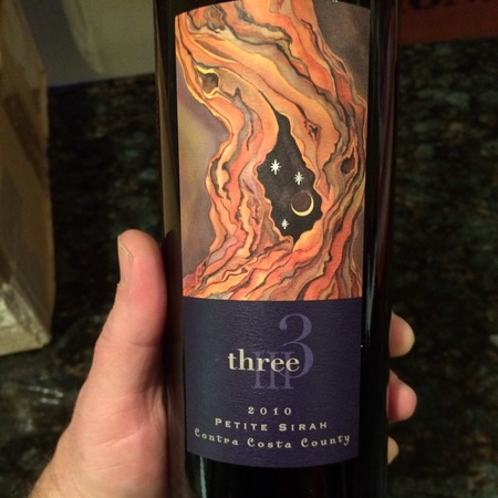 Three Wine Company Contra Costa County Petite Sirah 2014
