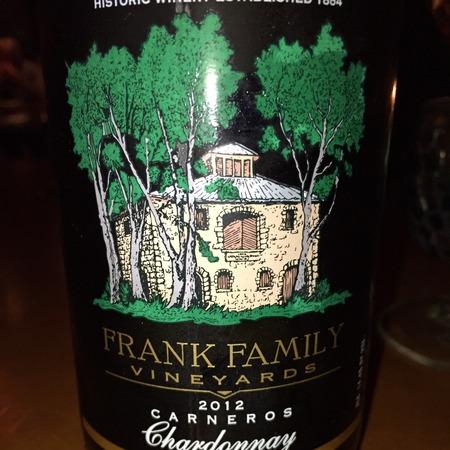Frank Family Vineyards Carneros Chardonnay  2015