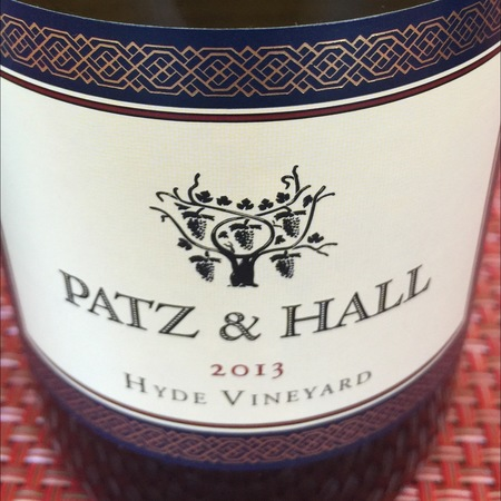 Patz & Hall Hyde Vineyard Chardonnay 2013