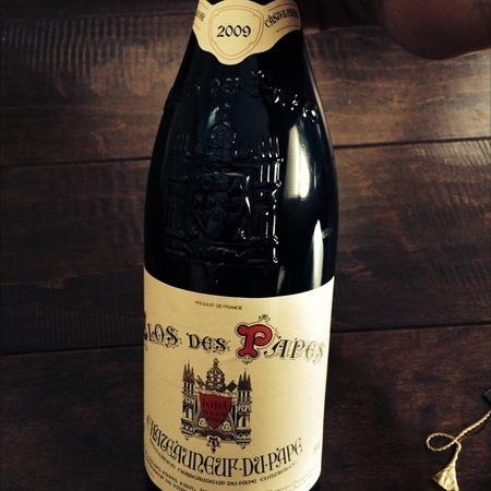 Clos des Papes Châteauneuf-du-Pape Red Rhône Blend 2009