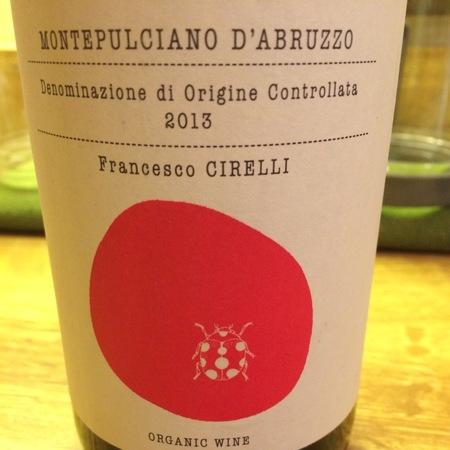 Azienda Agricola Cirelli (Francesco Cirelli) Organic Montepulciano d'Abruzzo 2016