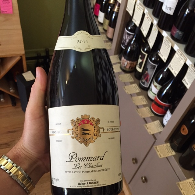 Les Chanlins Pommard Pinot Noir 2013