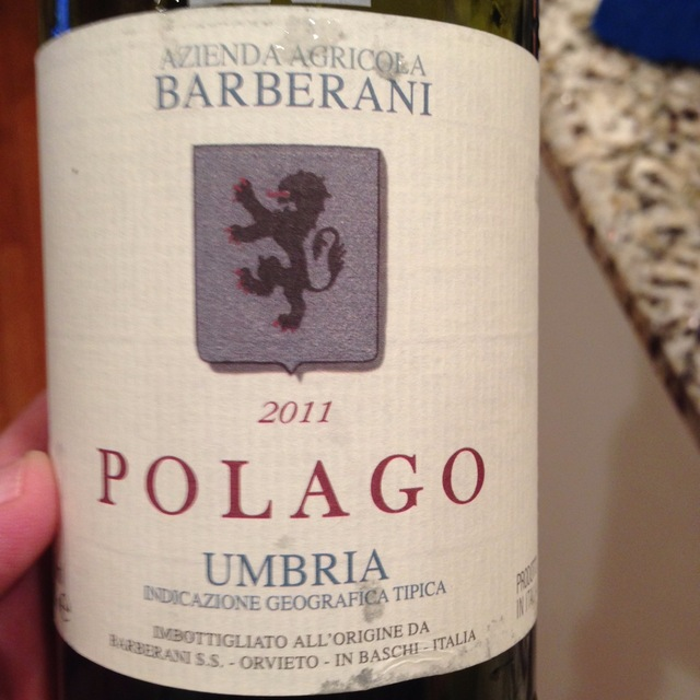 Polago Umbria Sangiovese Blend 2014