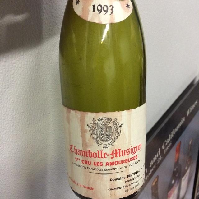 Les Amoureuses Chambolle-Musigny 1er Cru Pinot Noir 2003