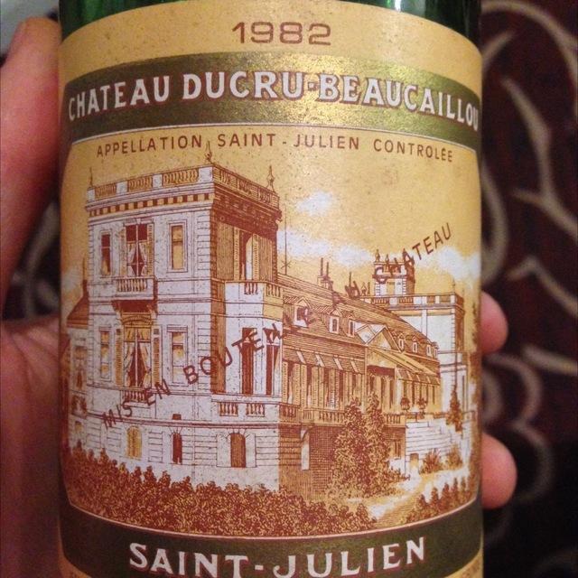 Saint-Julien Red Bordeaux Blend 1982