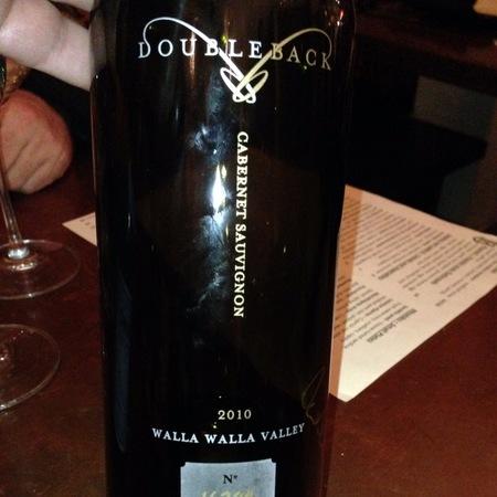 Doubleback Walla Walla Valley Cabernet Sauvignon 2014