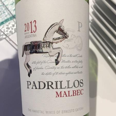 Ernesto Catena Padrillos Mendoza Malbec 2016
