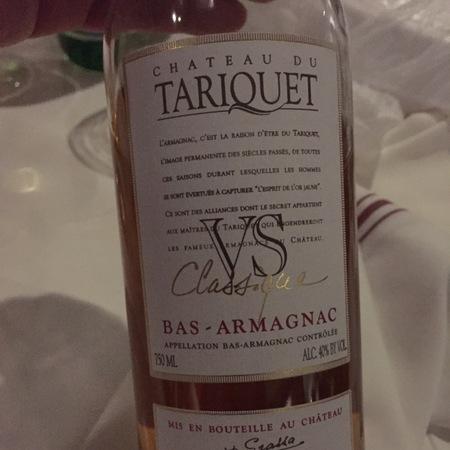 Domaine du Tariquet VS Classique Bas Armagnac Ugni Blanc Blend NV