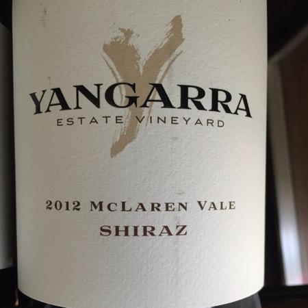 Yangarra Estate McLaren Vale Shiraz 2012