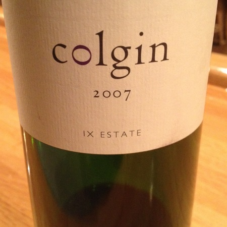 Colgin IX Estate Napa Valley Cabernet Sauvignon Blend 2007