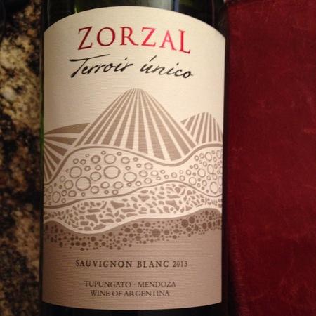 Zorzal Terroir Unico Tupungato Valley Sauvignon Blanc 2013