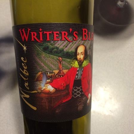 Steele Wines Writer's Block Lake County Malbec 2012