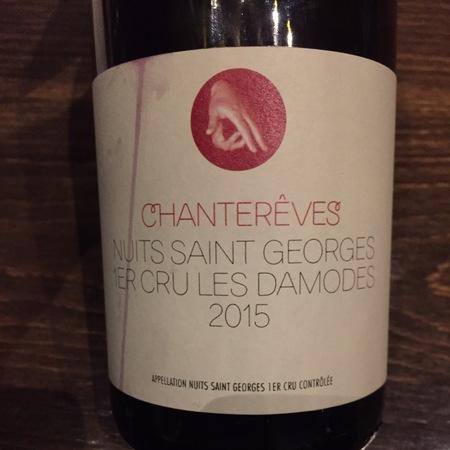 Chanterêves Les Damodes Nuits Saint Georges 1er Cru Pinot Noir 2015