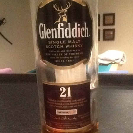 Glenfiddich 21 Years Old Single Malt Scotch Whisky NV