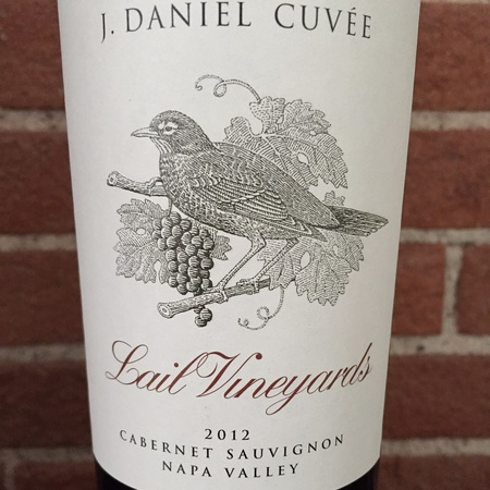 Lail Vineyards J. Daniel Cuvée Napa Valley Cabernet Sauvignon 2012