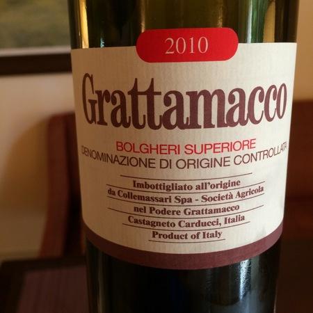 Grattamacco Bolgheri Superiore Red Blend 2010