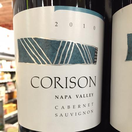 Corison Napa Valley Cabernet Sauvignon 2010