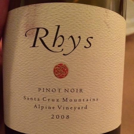 Rhys Vineyards Alpine Vineyard Pinot Noir 2008 (1500ml)