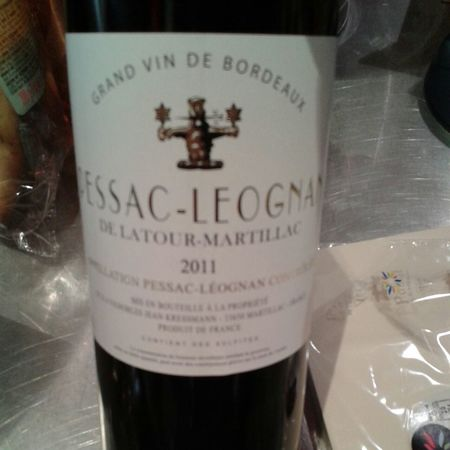 Chateau Latour-Martillac Pessac-Leognan Red Bordeaux Blend 2011