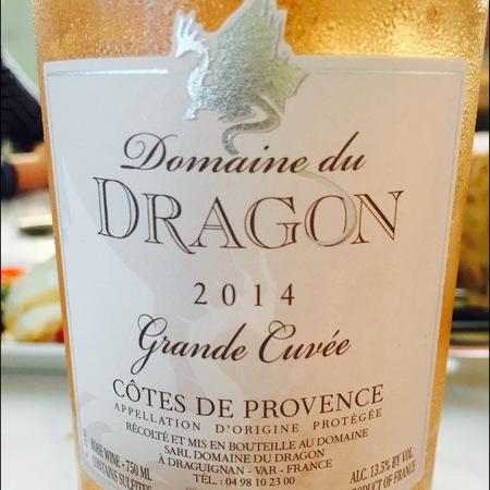 Domaine du Dragon Grande Cuvée Côtes de Provence Rosé Blend 2016
