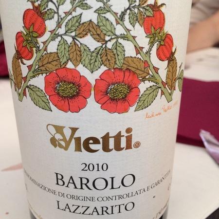 Vietti Lazzarito Barolo Nebbiolo 2012