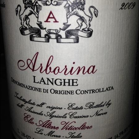 Elio Altare Arborina Langhe Nebbiolo 2009