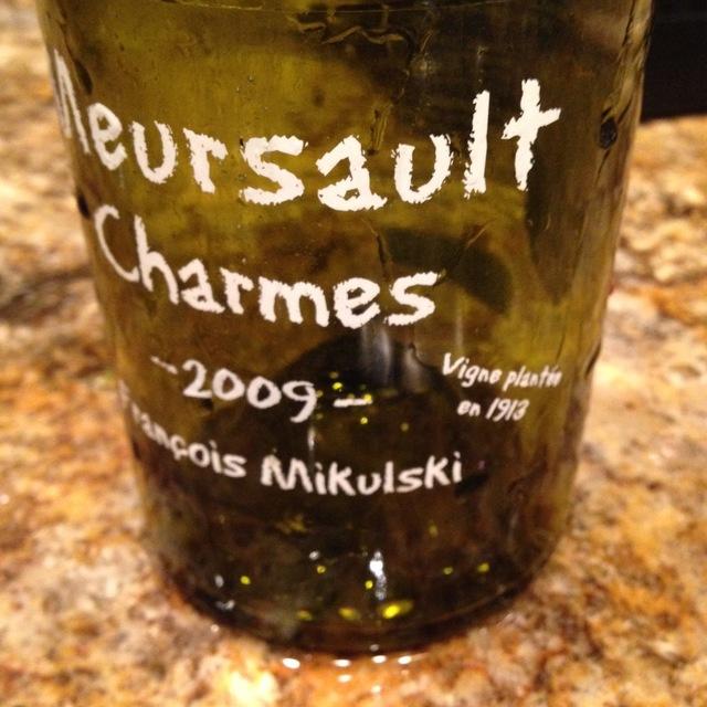Vigne plantée in 1913 Charmes Meursault 1er Cru Chardonnay 2014