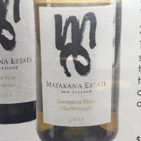 Matakana Estate Marlborough Sauvignon Blanc 2015