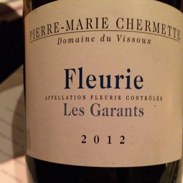 Les Garants Fleurie Gamay 2014