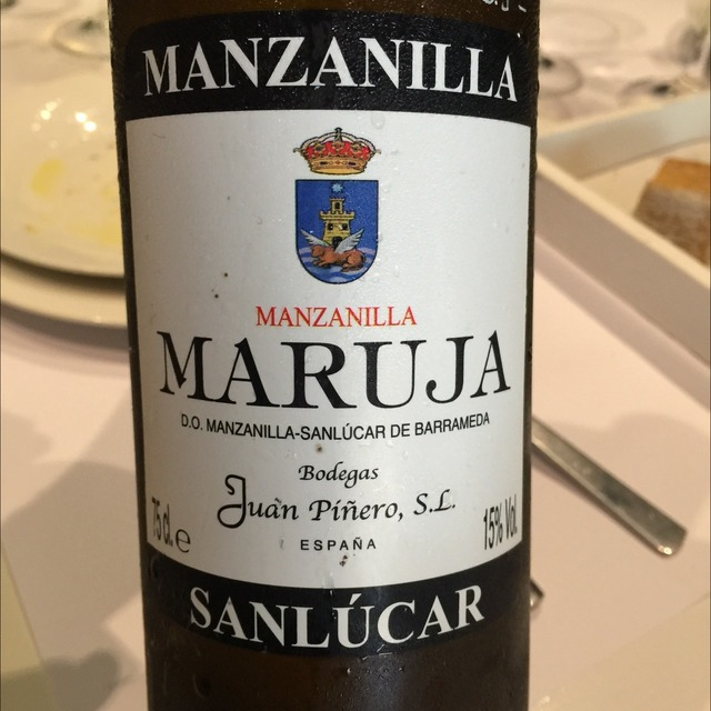Maruja Sanlúcar Manzanilla Sherry Palomino Fino NV (375ml)