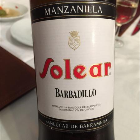 Bodegas Barbadillo Solear Manzanilla Palomino NV (375ml)