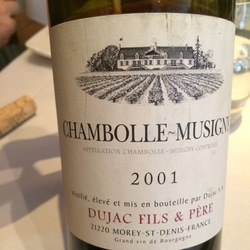 Chambolle-Musigny Pinot Noir