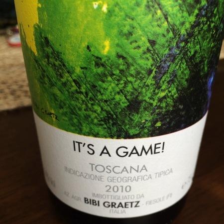 Bibi Graetz It's a Game! Toscana Sangiovese 2010
