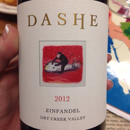 Dashe Cellars Dry Creek Valley Zinfandel 2014