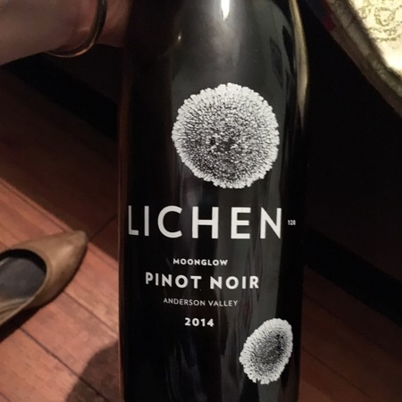 Lichen Estate Moonglow Pinot Noir 2015