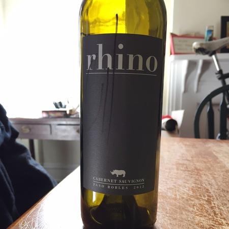 The Rhino Paso Robles Cabernet Sauvignon 2015